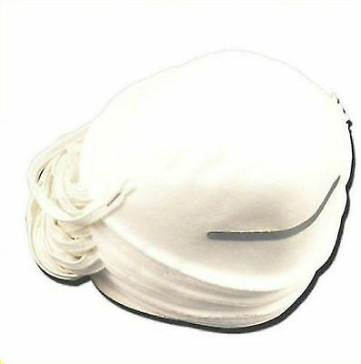 15 x DUST masks disposable moulded shell type elasticated face masks