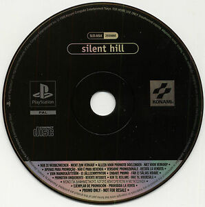 SILENT HILL PS1 PAL PROMO DISC PS2 for Press - Rare Complete Game NOT FOR RESALE