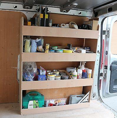 Shelving Tool Storage Plywood Racking for Vauxhall Vivaro SWB OS Rear 3x4x5