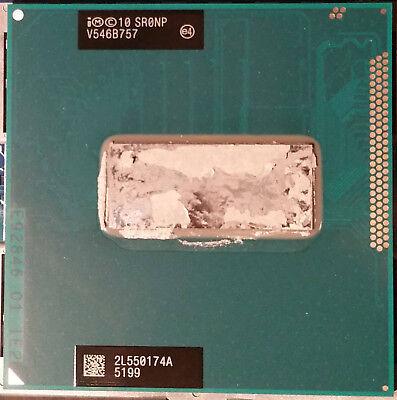 Intel i7-3610QE 2.3-3.38GHz Quad-Core mobile CPU mit HT rPGA988B/Socket G2,SR0NP usato  Spedire a Italy