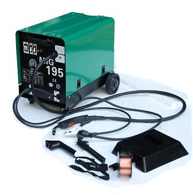 NEU HST Schutzgas Schweißgerät MIG MAG 195 Amp auch Fülldraht und Aluschweißen