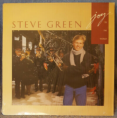 STEVE GREEN Joy To The World 1987 LP Christmas SPARROW Records SPR1143 ()
