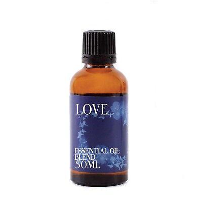 Mystix London Amor Aceites Esenciales - 100% Puro - 50ml (EOB50LOVE)