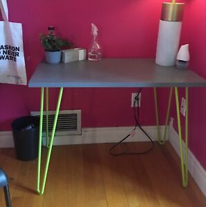 Desk and ikea chair