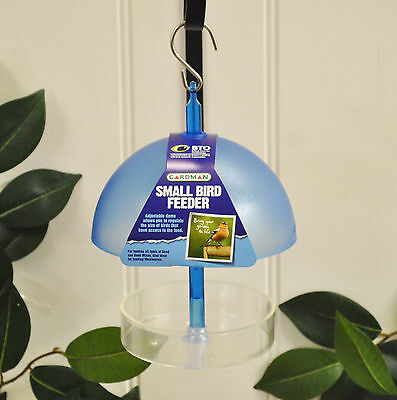 Gardman Small Bird Hanging Feeder Table - Ideal for Seeds & Mealworm