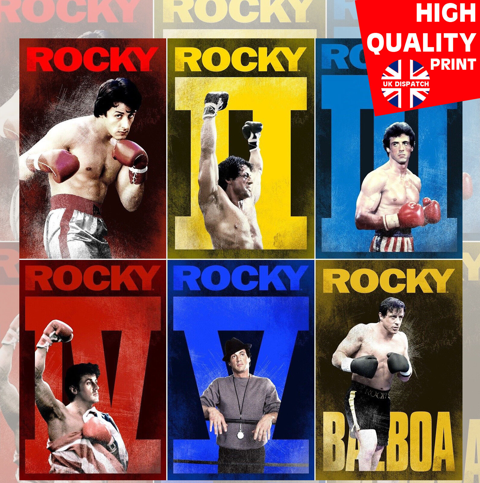 Rocky A3 Poster 1