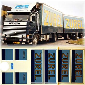 1 87 truck decal lkw abziehbild scania zurel holland nl. Black Bedroom Furniture Sets. Home Design Ideas