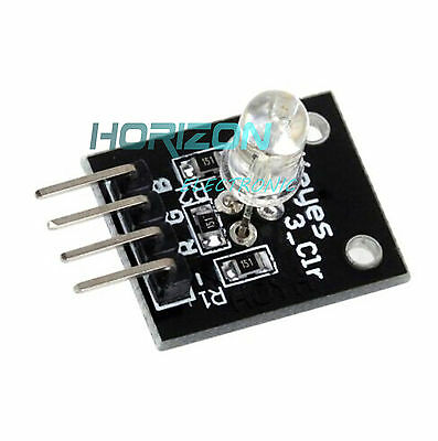 10pcs Ky-016 Rgb Led Module 3 Color Light For Arduino Mcu Avr Pic Raspberry