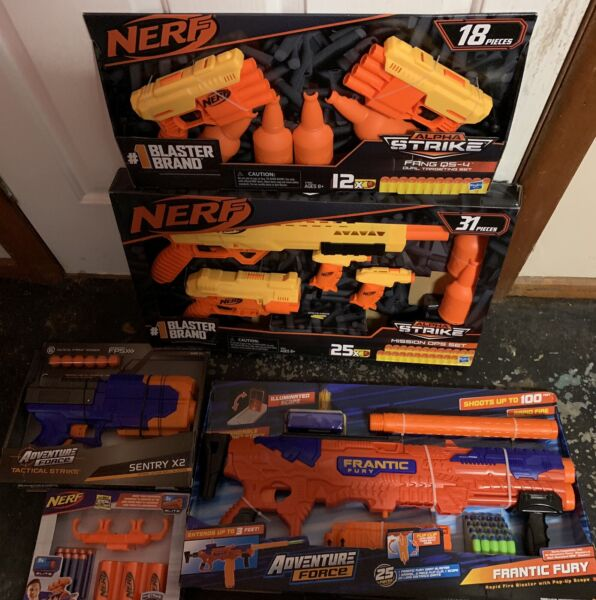 Nerf & Nerf rival , Dartzone, Adventure Force blasters