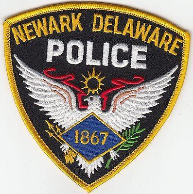 NEWARK DELEWARE POLICE SHOULDER PATCH