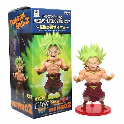 "Banpresto Dragon Ball Z Mega WCF - 5.5"" Legendary Super Saiyan Broly"