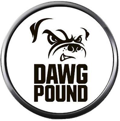 NFL Logo Cleveland Browns Dawg Pound Football Fan Team Spirit 18MM - 20MM Fashio 20' Nfl Football Fan