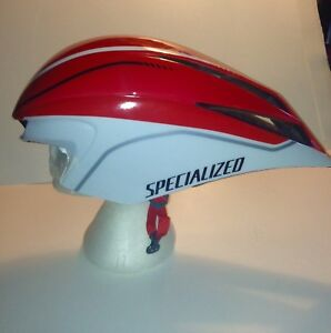 Specialized Road Cycling Helmet TT2 Size Medium to Lrg with Case