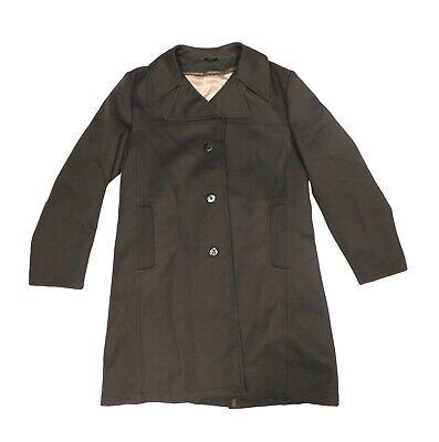 Boston BEST Coat Company Mens Trench Coat brown All Season Sz 42 & flannel