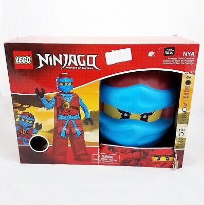 Ninjago Nya Halloween Costumes (Lego Ninjago Nya Prestige Deluxe Halloween Costume Girls Child Small 4-6)