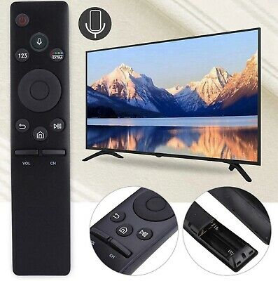 Voice COMMAND Bluetooth Remote Control for Samsung Smart LED UHD HD TV's