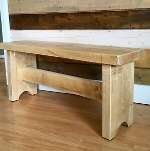 NEW SOLID WOOD BENCH