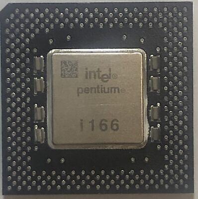 Socket 7 Intel Pentium MMX 166MHz Processor CPU FV80503166 SL27H 2.8V Tested!