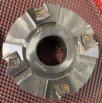 Jointer Shaper Cutter Head Straight 40mm Bore 50mm X 125mm