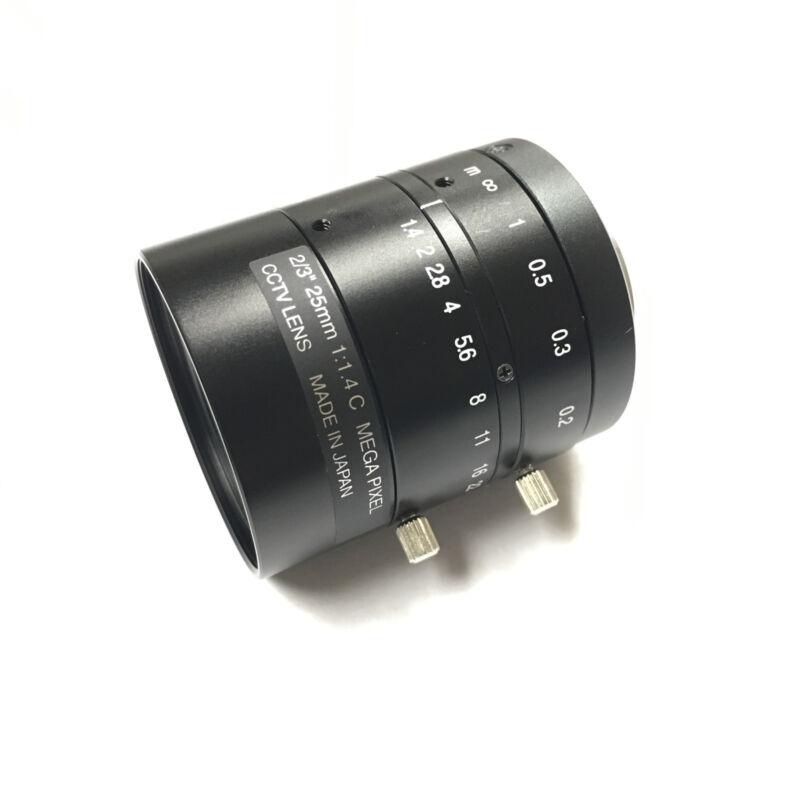 "Spacecom JHF25M-MP 3MP 2/3"" 25mm FA Lens"