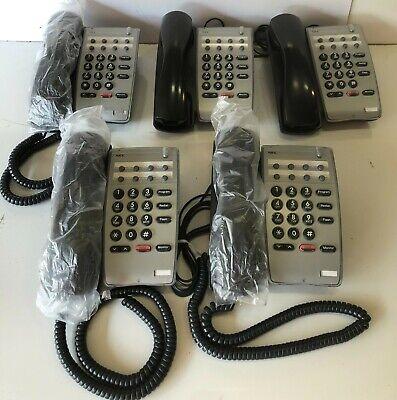 Lot Of 5 Nec Dtr-1hm-1bk Tel Office Phones