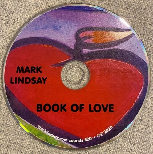 *NEW RELEASE* Mark Lindsay Book of Love CD Personally AUTOGRAPHED to YOU