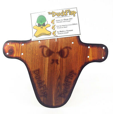 DUCK FLAP Wood Look Mountain Bike Fender/Mud (Wood Bike Fenders)