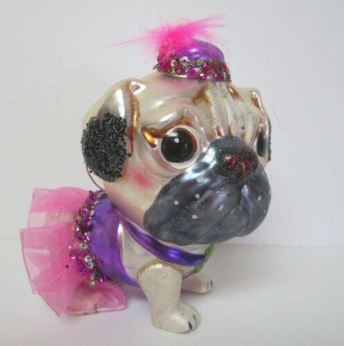 Bulldog Ornament First Class Fido