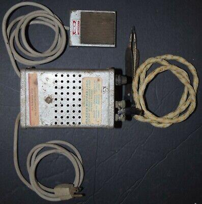 Vintage Contact Inc Hotip Soldering Resistance Station Wfoot Pedal H-101a 115v