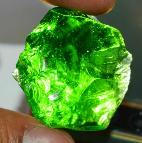 Exclusive Piece 107 Ct Certified Pakistani Green Peridot Uncut Rough Gemstone
