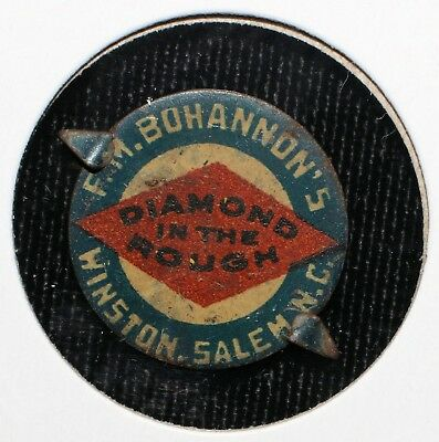 "FM Bohannon's ""Diamond In The Rough"" Tobacco Tag (Winston-Salem, NC)"