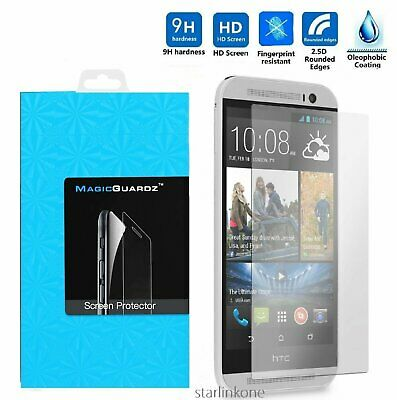 Ultra Slim Premium HD Tempered Glass Screen Protector for HTC One M8 Cell Phone Accessories