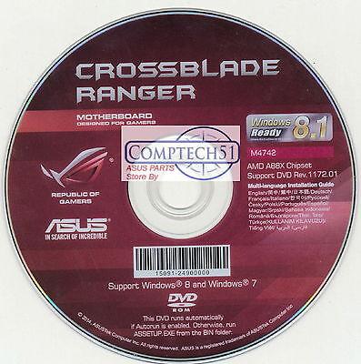ASUS GENUINE MOTHERBOARD SUPPORT DISK  Crossblade Ranger M4742