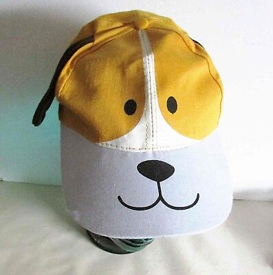Child's Puppy Dog Cap with Ears One Size Halloween costume FREE SH