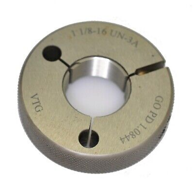 Vermont Gage 361166510 1 1//16-12 UN 2A Go Ring Gage