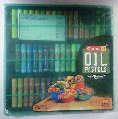 Camel Oil Pastels :: Crayons :: Oil Pastels : 50 Shades : Camlin Kokuyo : Colors