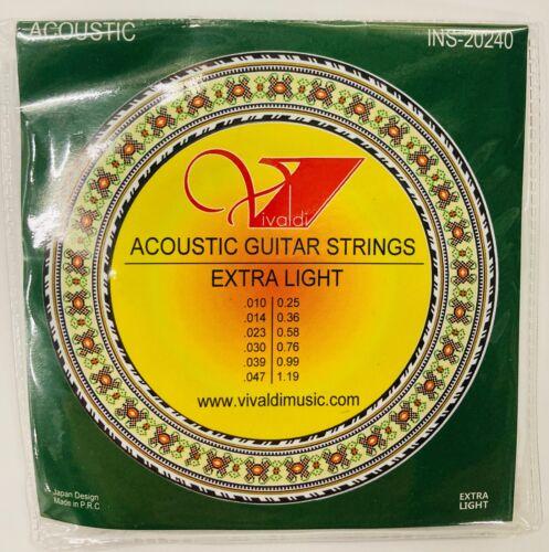 6PCS Acoustic Guitar Strings Extra Light