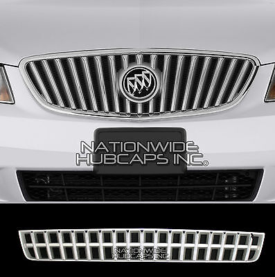 for Buick Lacrosse 10-12 CHROME Snap On Lower Grille Overlay Bottom Cover Insert Chrome Lower Grille