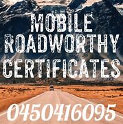 Roadworthy Certificate Cornubia Logan Area Preview