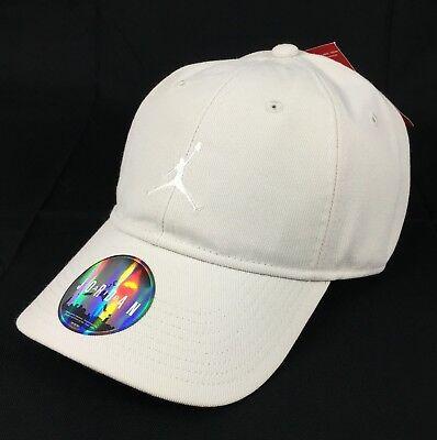 78399f55248 Jordan Floppy H86 Strapback Adjustable Hat Cap Beige Black Nike Air  847143-072