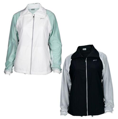 Asics Women's 2-in-1 Athletic Zip Up Jacket Vest Coat Windbr