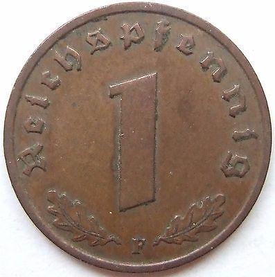TOP! 1 Pf 1936 F in VORZÜGLICH SELTEN !!!