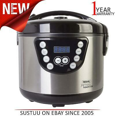 Wahl James Martin By Wahl 4L Digital Multi Cooker│6 Function│Easy Clean│ZX916