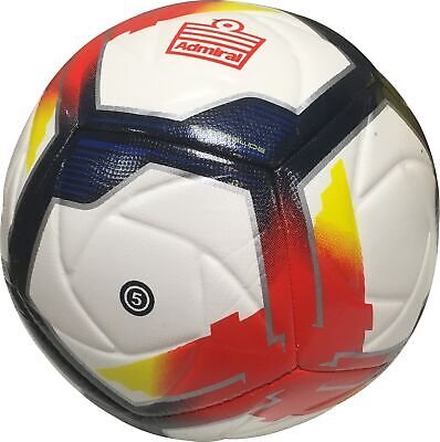 Admiral Premier Superglide Football White Size 5 Durable Training Ball
