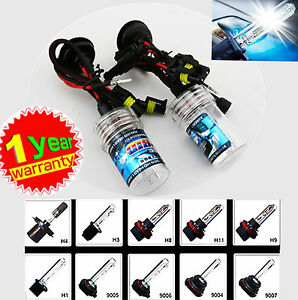 2x 55W H1 H3 H7 H11 HID Xenon HeadLight Lamp Bulbs Globe 4300K 5000K 6000K 8000K