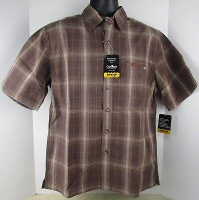Carhartt S154MCH HERREN Plaid Button Up Shirt Neu mit Etikett