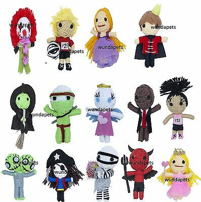 Voodoo Dolls Toys (STRING VOODOO DOLLS  CAT KITTEN TOYS WITH CATNIP 16 CHARACTERS PLAYTIME)