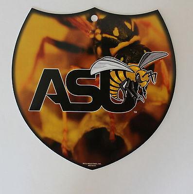 Alabama State University Hornet Licensed NCAA ASU Interstate Sign Wall Decor - Asu Decorations