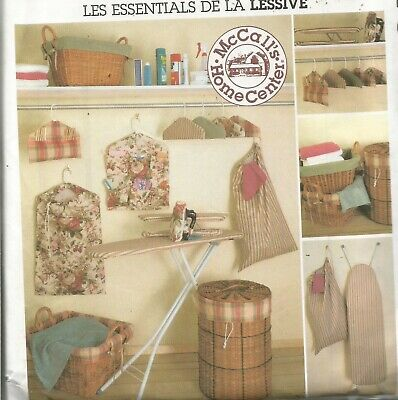 McCalls Pattern 2784, Laundry Essentials, Clothes pin bag, Hangers,etc. NEW Clothespin Bag Patterns