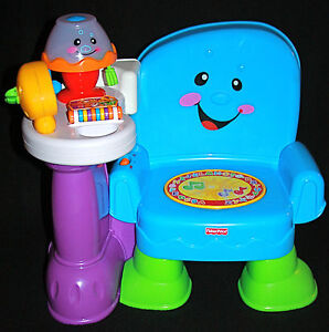 fisher price laugh and learn musical activity learning chair songs lights up ebay
